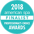 2018 american spa FINALIST Professional Choice Awards