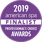 2019 American spa FINALIST Professional Choice Awards