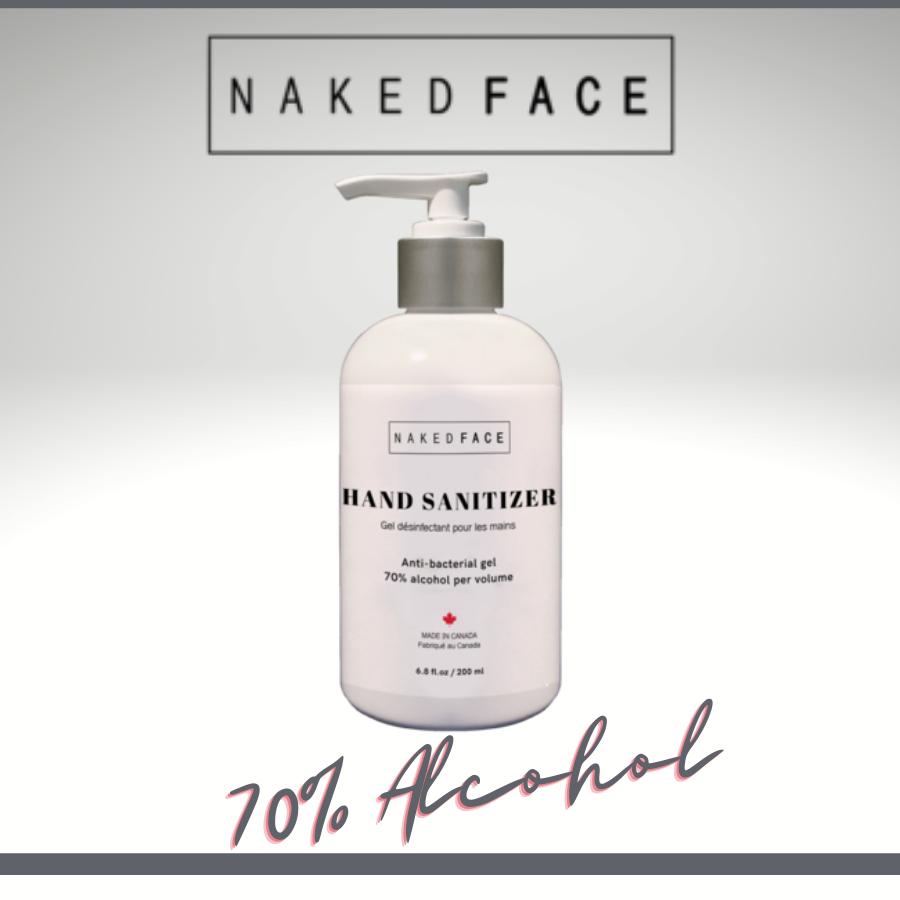 Naked Face Hand Sanitizer